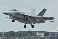 166788 @ LAL - 166788 (AJ-113), Boeing F/A-18E Super Hornet, c/n: E134 taking off from 2012 Sun N Fun