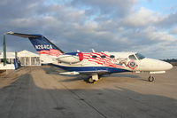 N264CA @ LAL - Cessna 510, c/n: 510-0381 in Patriotic colours on Static display at 2012 Sun N Fun