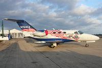 N264CA @ LAL - Cessna 510, c/n: 510-0381 in Patriotic colours on Static display at 2012 Sun N Fun