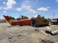 143892 @ KMIT - the remains of the sikorsky, Shafter airport - by olivier Cortot