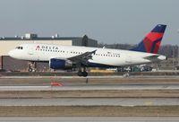 N316NB @ DTW - Delta A319