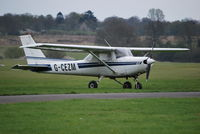 G-CEZM @ EGKR - Cessna 152 at Redhill Ex N6167Q - by moxy