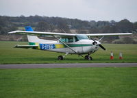 G-BYES @ EGKR - Cessna 172P at Redhill Ex PH-ILN - by moxy