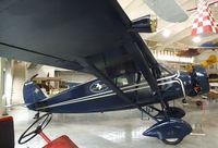 N418M @ 0S9 - Stinson SM-8A Junior at the Port Townsend Aero Museum, Port Townsend WA