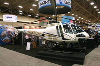 N883CH @ 49T - On display at Heli-Expo - 2012 - Dallas, Tx