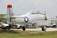 N128DR @ LAL - 1951 North American T-28A, c/n: 51-7588 at Lakeland during 2012 Sun N Fun