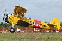 N1704M @ LAL - 1943 Boeing E75, c/n: 75-8595 ex Bu43501 at 2012 Sun N Fun