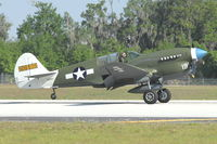 N49FG @ LAL - 1943 Curtiss Wright P-40N-5, c/n: 42-105861 at 2012 Sun N Fun