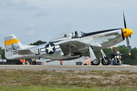 N51JC @ LAL - 1944 North American/aero Classics P-51D, c/n: 44-72339 at 2012 Sun N Fun