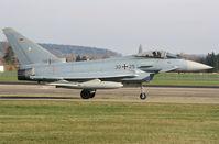 30 25 @ ETSN - Eurofighter 3025 on the taxitrack of its' homebase: Neuburg an der Donau AB. - by Nicpix Aviation Press  Erik op den Dries