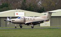 LX-JFM @ EGLD - Jetfly Aviation S.A. - by Clive Glaister