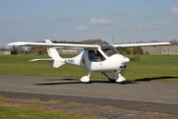 G-TOMJ @ EGBR - Flight Design CT2K, Breighton Airfield's 2012 April Fools Fly-In. - by Malcolm Clarke