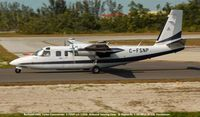 C-FSNP @ APF - Rockwell 690C Turbo Commander c/n 11646 taxiing to duty runway - by J.G. Handelman