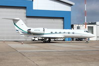 N707EA @ EGGW - 1996 Gulfstream Aerospace G-IV, c/n: 1284 at Luton - by Terry Fletcher