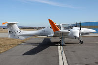 A6-FTZ @ LOAN - Diamond DA42 - by Loetsch Andreas