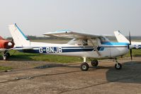 G-BNJB @ EGSF - Cessna 152, Conington, Peterborough, UK, March 2007. - by Malcolm Clarke