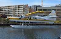N707KA @ LKE - N707KA taxiing to the water runway at Kenmore Air's Seattle Lake Union seaplane base. - by aeroplanepics0112