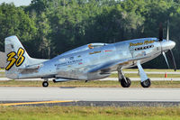N6WJ @ LAL - World Jet Inc P-51 XR, c/n: 44-88 ex 44-73518 at 2012 Sun N Fun