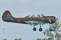 N5979X @ LAL - 1983 Yakovlev YAK 52, c/n: 833010 at 2012 Sun N Fun