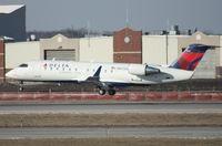 N825AY @ DTW - Pinnacle CRJ-200