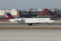 N8495B @ DTW - Pinnacle CRJ-200