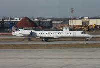 N14143 @ DTW - United Express E145XR