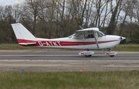 G-ATKT @ EGSV - Just landed. - by Graham Reeve
