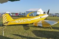 N5827N @ LAL - Static Exhibit at 2012 Sun N Fun
