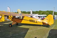N116LL @ LAL - Static exhibit at 2012 Sun N Fun