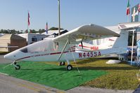 N445SA @ LAL - Static Exhibit at 2012 Sun n Fun