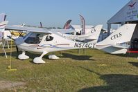 N574CT @ LAL - Static Exhibit at 2012 Sun n Fun