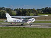 VH-MFQ @ YCEM - Missionary Fellowship Cessna at Coldstream.