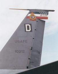 61-0312 @ EBBE - KC-135 tail markings - by olivier Cortot