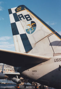 160156 - CAG Tail ! USS america 1993 - by olivier Cortot