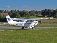 VH-MGT @ YCEM - Cessna 206 VH-MGT at Coldstream