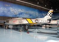 19168 @ LGTT - HAF museum , here marked as 19210/FU-910 represents US Captain Joseph McConnell's F-86F a/c Beauteous Butch II (Korean War Ace pilot) - by Stamatis A.
