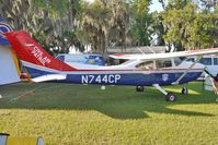 N744CP @ LAL - Static exhibit at 2012 Sun N Fun