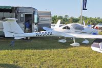 N595GL @ LAL - Static Exhibit at 2012 Sun N Fun