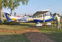 N9418F @ LAL - Static exhibit at 2012 Sun N Fun