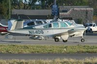 N114DG @ KFUL - Parked at Fullerton - by Nick Taylor