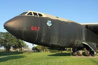 56-0687 @ MCO - 1956 Boeing B-52D Stratofortress, c/n: 464058 in Memorial Park at Orlando International