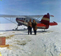CF-BTC - CF-BTC at Keller Lake NWT in 1962 - by Al Gross