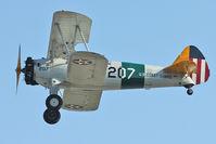 N1358M @ LAL - 1941 Boeing B75N1, c/n: 75-1229 departing 2012 Sun N Fun