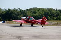N34379 @ BOW - 1956 Meyers MAC-145 N34379 at Bartow Municipal Airport, Bartow, FL - by scotch-canadian