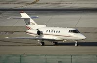 N817QS @ KLAX - Taxiing to parking at LAX