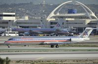 N7544A @ KLAX - Taxiing to gate at LAX