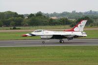 87-0303 @ FFD - Thunderbirds display at Royal International Air Tattoo 2007 - by Steve Staunton