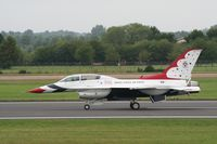 87-0323 @ FFD - Thunderbirds display at Royal International Air Tattoo 2007 - by Steve Staunton