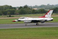 87-0329 @ FFD - Thunderbirds display at Royal International Air Tattoo 2007 - by Steve Staunton