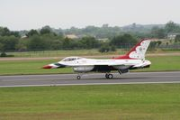 87-0319 @ FFD - Thunderbirds display at Royal International Air Tattoo 2007 - by Steve Staunton